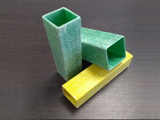 Стеклопластиковая труба квадратного сечения