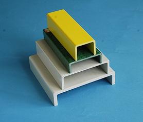 Стеклопластиковый швеллер