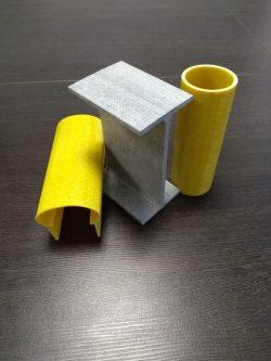 Изготовление стеклопластикового профиля. С доставкой по СНГ и России